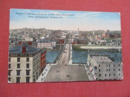 Delaware Bridge--  Separates Easton From Phillipsburg  Pennsylvania >  -ref 3667 - United States