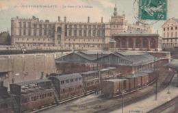 Saint Gerrmain En Laye La Gare Et Le Chateau éditeur L Abeille N°47 - St. Germain En Laye