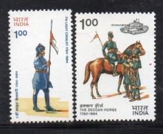 CI1745- INDIA 1984 , Yvert Serie N. 791+792  *** MNH  (2380A). - Nuovi