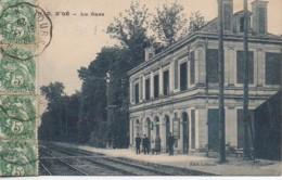 37 NOTRE-DAME D'OE  La Gare - Stazioni Senza Treni