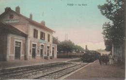 55 VOID  La Gare - Stations - Met Treinen