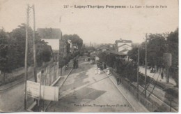 77 LAGNY-THORIGNY POMPONNE  La Gare Sortie De Paris - Stazioni Senza Treni