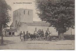 85 CHAMPAGNE-les-MARAIS  L'Eglise - Autres Communes