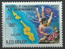 """Nle-Caledonie YT 445 """" Iles """" 1981 Neuf** - New Caledonia"""