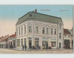 Serbie Пожаревац  POŽAREVAC Passarowitz ... Okruzna Banka (Salon Vulcovic) Carte Circulée En 1927 - Serbie