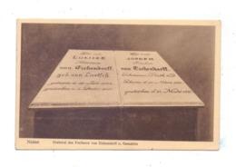 OBER - SCHLESIEN - NEISSE / NYSA, Grabmal Des Freiherrn Von Eichendorff Und Gemahlin - Schlesien