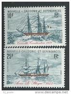 "Nle-Caledonie YT 449 & 450 "" Voiliers "" 1981 Neuf** - Nieuw-Caledonië"