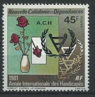 "Nle-Caledonie YT 451 "" Handicapés "" 1981 Neuf** - New Caledonia"