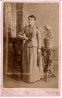 ARGENTINE CORRIENTES  BUENOS AIRES  - CDV PHOTOGRAPHIE ORIGINALE  Du Photographe CANTON - Femme - Photographs
