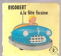 Collection Mini-Livres Hachette N°28 De 1964 RIGOBERT à La Fête Foraine - Livres, BD, Revues