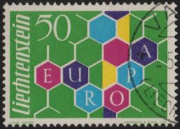 ~~~ Liechtenstein 1960 - Europa CEPT - Yv. 355 (o)  ~~~ - 1960