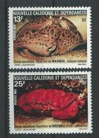 """Nle-Caledonie YT 453 Et 454 """" Aquarium Nouméa """" 1982 Neuf** - Nueva Caledonia"""