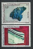 """Nle-Caledonie YT 455 & 456 """" Roches """" 1982 Neuf** - Ungebraucht"""
