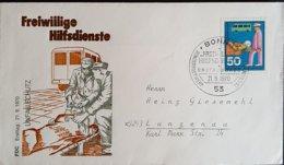 Germany BRD FDC Freiwillige Hilfsdienst Unfallschutz 1970 - [7] Federal Republic