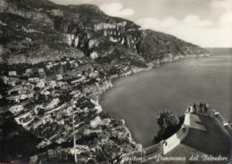 POSITANO-DAL BELVEDERE-SALERNO-1958 - Salerno