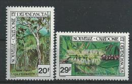 """Nle-Caledonie YT 457 & 458 """" Flore """" 1982 Neuf** - New Caledonia"""