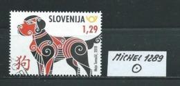 SLOWENIEN MICHEL 1289 Gestempelt Siehe Scan - Slovénie
