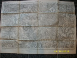 Carte Topographique De Gedinne (Houdremont Orchimont Revin Haybes) - Cartes Topographiques