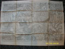 Carte Topographique De Gedinne (Houdremont Orchimont Revin Haybes) - Topographical Maps