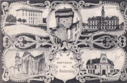 CPA 23 LA SOUTERRAINE Souvenir Fantaisie 5 Vues 1923 - La Souterraine