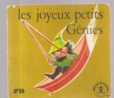 Collection Mini-Livres Hachette N°19 De 1963 Les Joyeux Petits Génies - Livres, BD, Revues