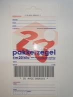 Netherlands Pakketzegel NVPH Nr 23 Up To 20 Kg, 2000 Unused Geuzendam 23c  Hang - Ganzsachen
