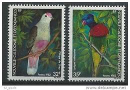 """Nle-Caledonie YT 462 & 463 """" Oiseaux """" 1982 Neuf** - Nueva Caledonia"""