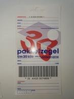 Netherlands Pakketzegel NVPH Nr 24 Up To 30 Kg, 2000 Unused Geuzendam 24c Hang - Ganzsachen
