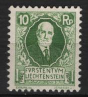 Liechtenstein 1925 Unif. 72 */MLH VF - Unused Stamps