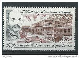 "Nle-Caledonie YT 465 "" Bibliothèque "" 1982 Neuf** - New Caledonia"