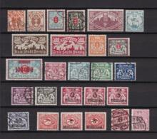 Danzig - 1922/23 - Sammlung - Gest./Ungebr. - Danzig