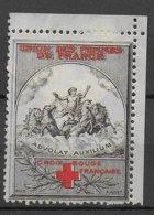 VIGNETTE CROIX-ROUGE De L'UNION DES FEMMES De FRANCE - Red Cross