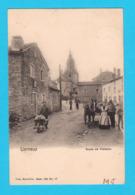CPA LIERNEUX Bien Animée : Route De Vielsalm, Circulée, Nels Série 124 N° 17 - 2 Scans - Lierneux