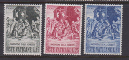 Vatican City S 279-281 1959 Christmas, Mint Never Hinged - Unused Stamps