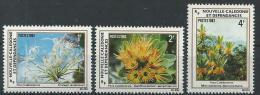 """Nle-Caledonie YT 469 à 471 """" Flore """" 1983 Neuf** - Ungebraucht"""