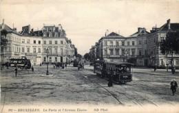 Bruxelles - La Porte Et L' Avenue Louise - Le Tram N° 7 - Lanen, Boulevards