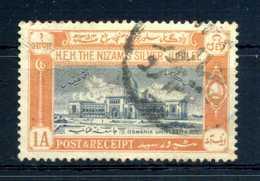 1937 HYDERABAD N.39 USATO - Hyderabad