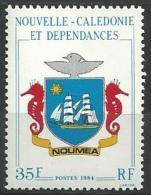 "Nle-Caledonie YT 486 "" Blason "" 1984 Neuf** - Nouvelle-Calédonie"