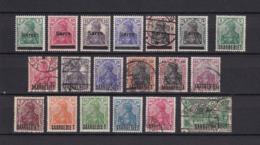 Saargebiet - 1920 - Sammlung - Gest./Ungebr. - 1920-35 Saargebiet – Abstimmungsgebiet