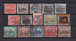 Saargebiet - 1921 - Sammlung - Gest./Ungebr. - 1920-35 Saargebiet – Abstimmungsgebiet