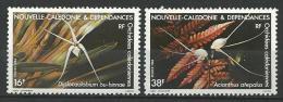 "Nle-Caledonie YT 488 & 489 "" Orchidées "" 1984 Neuf** - Ungebraucht"