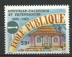 """Nle-Caledonie YT 490 """" Ecole Publique """" 1984 Neuf** - Nouvelle-Calédonie"""