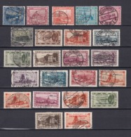 Saargebiet - 1922/34 - Sammlung - Gest./Ungebr. - 1920-35 Saargebiet – Abstimmungsgebiet