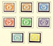 PAPUA NEW GUINEA  -  1960 Postage Dues Set Unmounted/Never Hinged Mint - Papúa Nueva Guinea