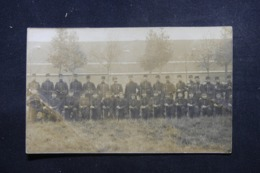 MILITARIA - Carte Postale Photo - Groupe De Soldats - Reims En 1912 - L 43902 - Personnages