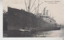 NAVE SHIP Riesendampfer Vaterland Hamburg Amerika - Paquebots