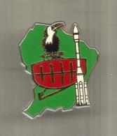 Insigne , Centre  De Controle Militaire , KOUROU ,GUYANE , Drago ,Noisel - Airforce