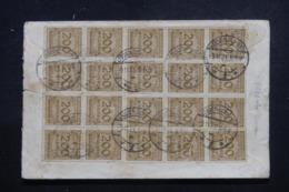 ALLEMAGNE - Affranchissement Plaisant Au Verso D'une Enveloppe En 1923 De Lüdenscheid Pour Habsheim - L 43904 - Briefe U. Dokumente