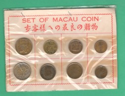 Macao Macau Souvenir Coins / Tourists Coinage 8 Monete - Macau