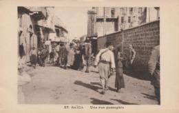 Liban  -  SAÏDA  -  Une Rue Passagère - Líbano